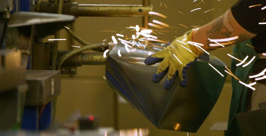 HVAC manufacturing shot